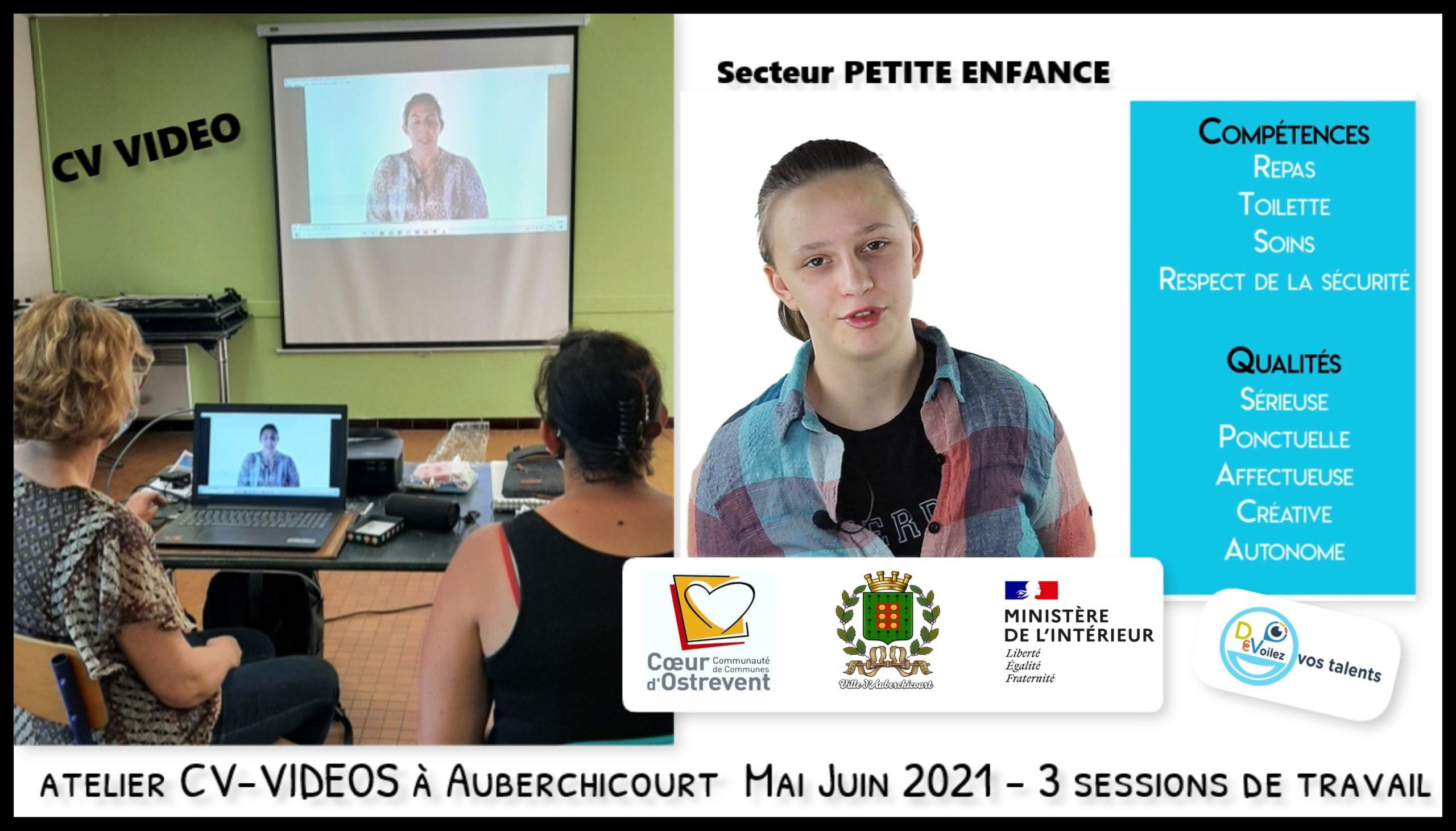 Atelier CV-VIDEO Auberchicourt